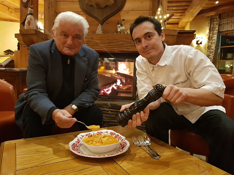 Michel Philippe Chef & Jérôme Badonnel Chef exécutif